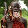 アフリカ 少数民族 民族衣装 図鑑 解説 エチオピア ムルシ族